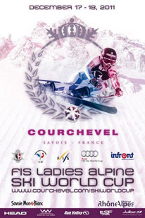 Courchevel 2011 Ladies Alpine Ski World Cup